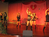 One of the dance routine