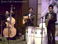 Live Band Performance, Trio Setting LIVE at the wedding reception