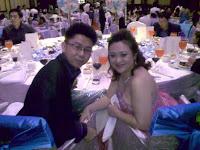 Bride and groom, Jiun and Siyuan