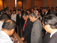 YB Tan Sri Abu Sahid and Tun Dr Mahathir Mohamad