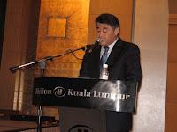 Raymond Goh, the master of ceremony