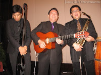 A profile photo of the three piece Live Band that was provided by Jason Geh Entertainment