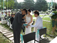 groom to place ring on his bride