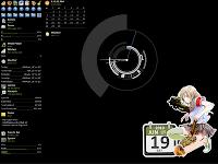 Mempercantik desktop rainmeter