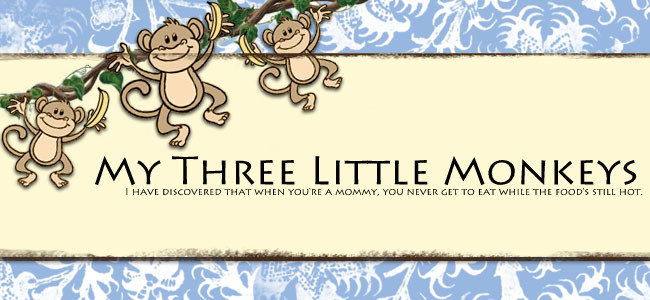 My Three Little Monkeys