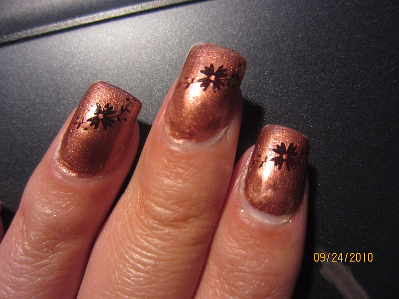 Mary\'s gel nails ! : Fall nails and my new tattoo .
