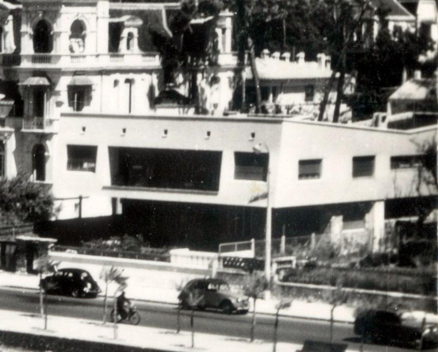 Architectures de cartes postales 1 une ombre blanche sur for Royan la maison blanche
