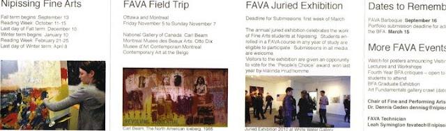 FAVA Nipissing University Juried Exhibition