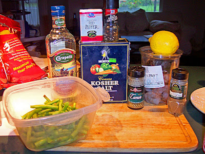 Spicy Green Beans & Shrimp