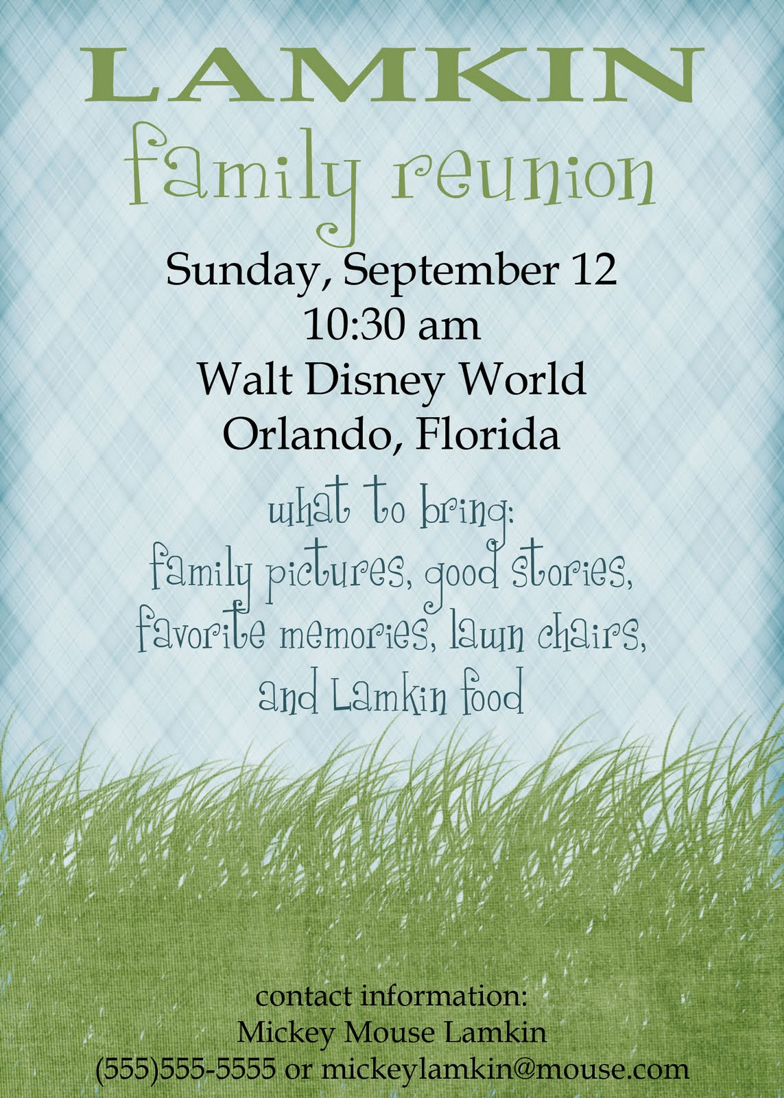 pass the pineapple family reunion invitations