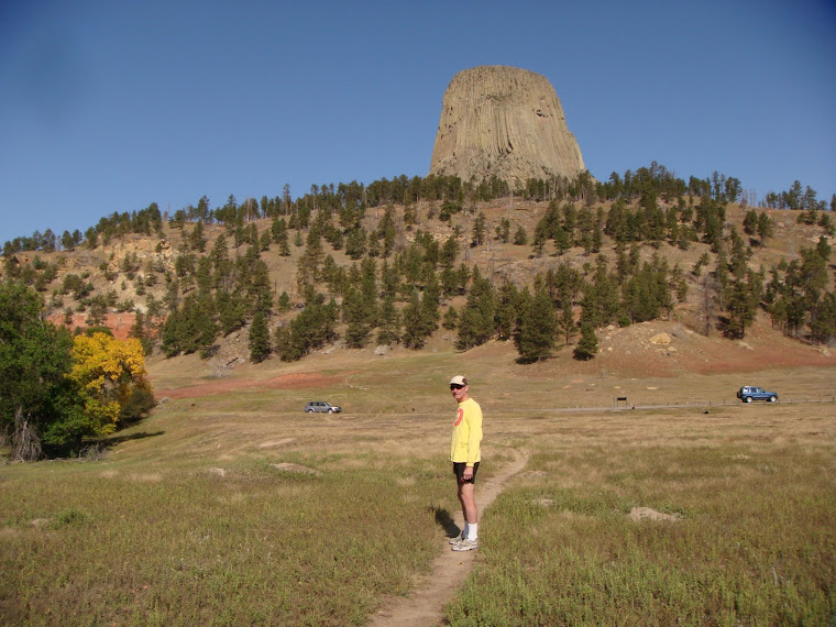 Jerry on Trail to Devil's Tower