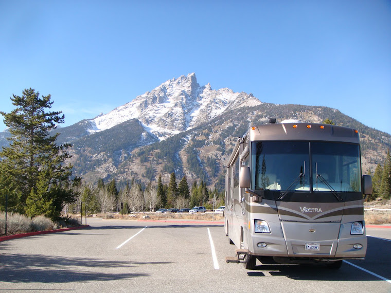 RV in Grand Tetons Area