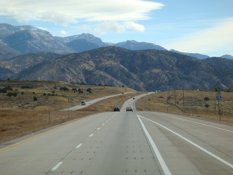 Leaving Fillmore, Utah