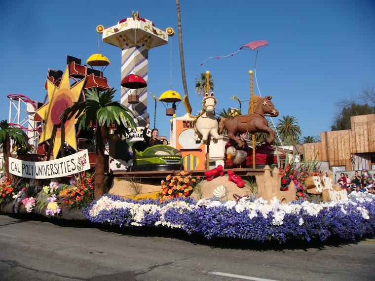 Cal Poly Float