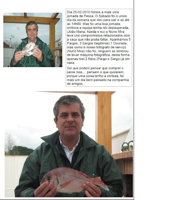 *  *  * Pesca em Fevereiro *  *  *