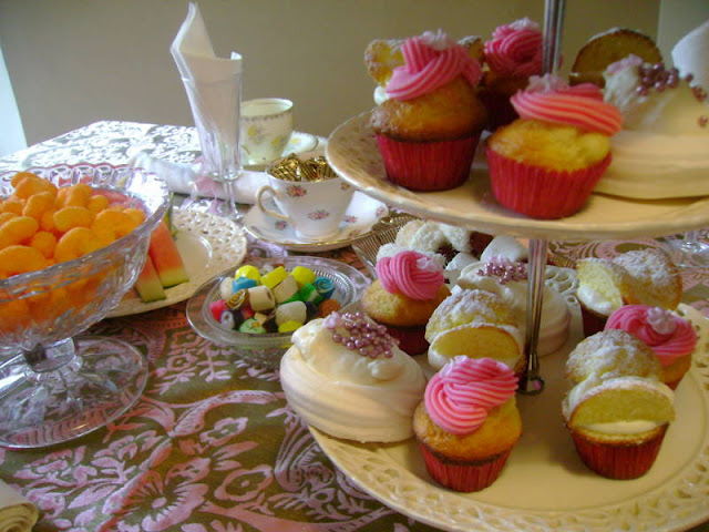 Fancy Nancy Party - fancy vintage tea party (gluten free and gorgeous)