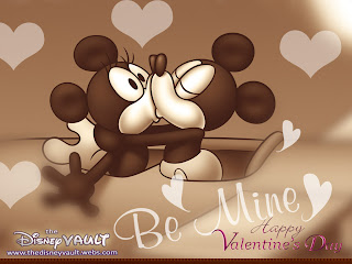 Free Disney Valentine Wallpaper