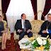 Συνάντηση Καραμανλή με Αρχιεπίσκοπο Χρυσόστομο