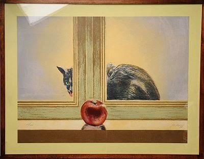 La manzana un arte