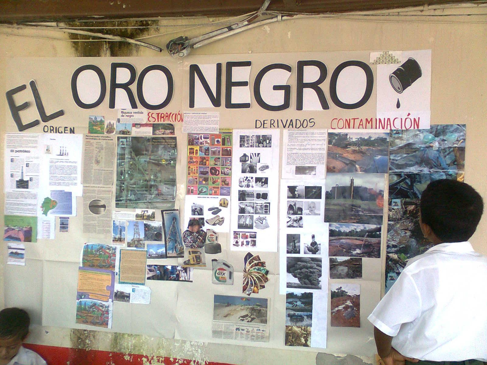 Oro negro for El periodico mural wikipedia