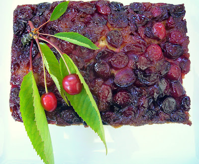 Diane Thompson's Cherry Upside Down Cake