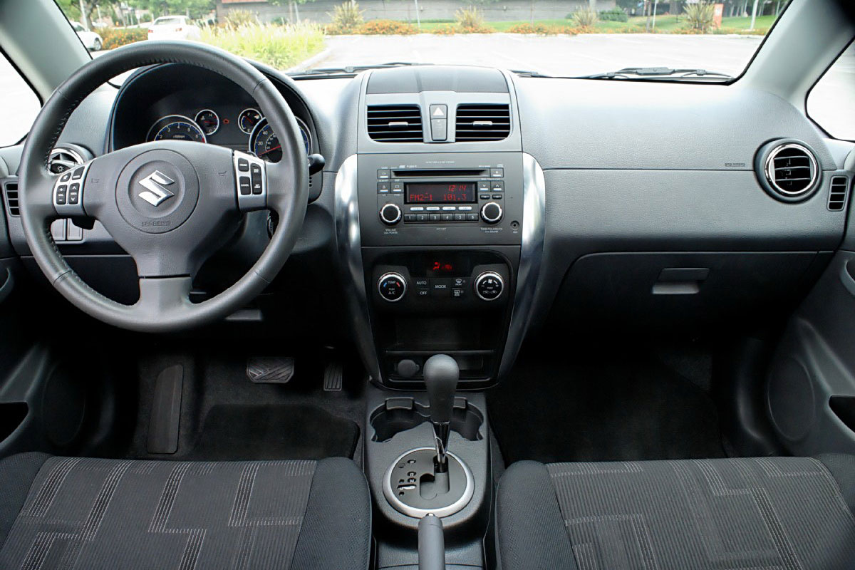 The Poor Car Reviewer  2009 2010 Suzuki SX4