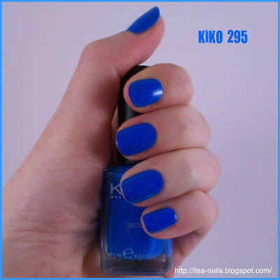 Swatch: KIKO No. 295
