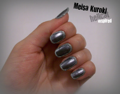 Celeb Nails | Kuroki Meisa's hellcat