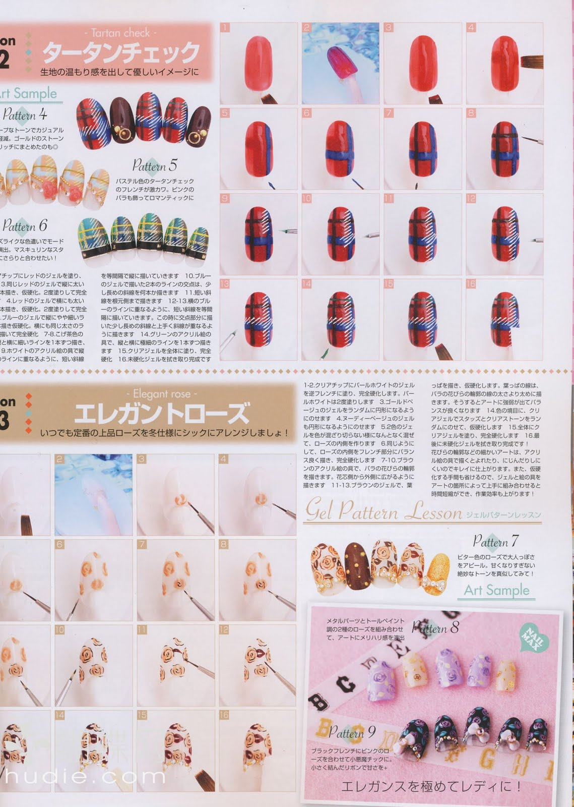 Nail Trend: Magazine scans from Nail Max December 2010