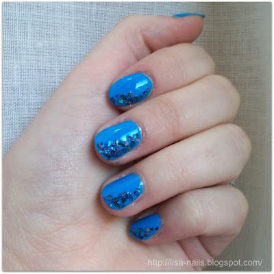 Sister NOTD: Carribean Blue