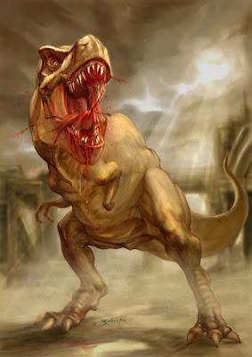 El T. Rex: El dinosaurio mas temido del Jurásico