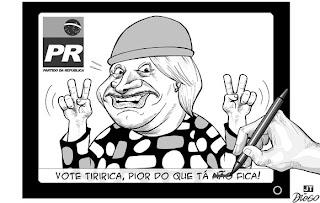 jt10 tiririca Haurélho do Deputado Tiririca
