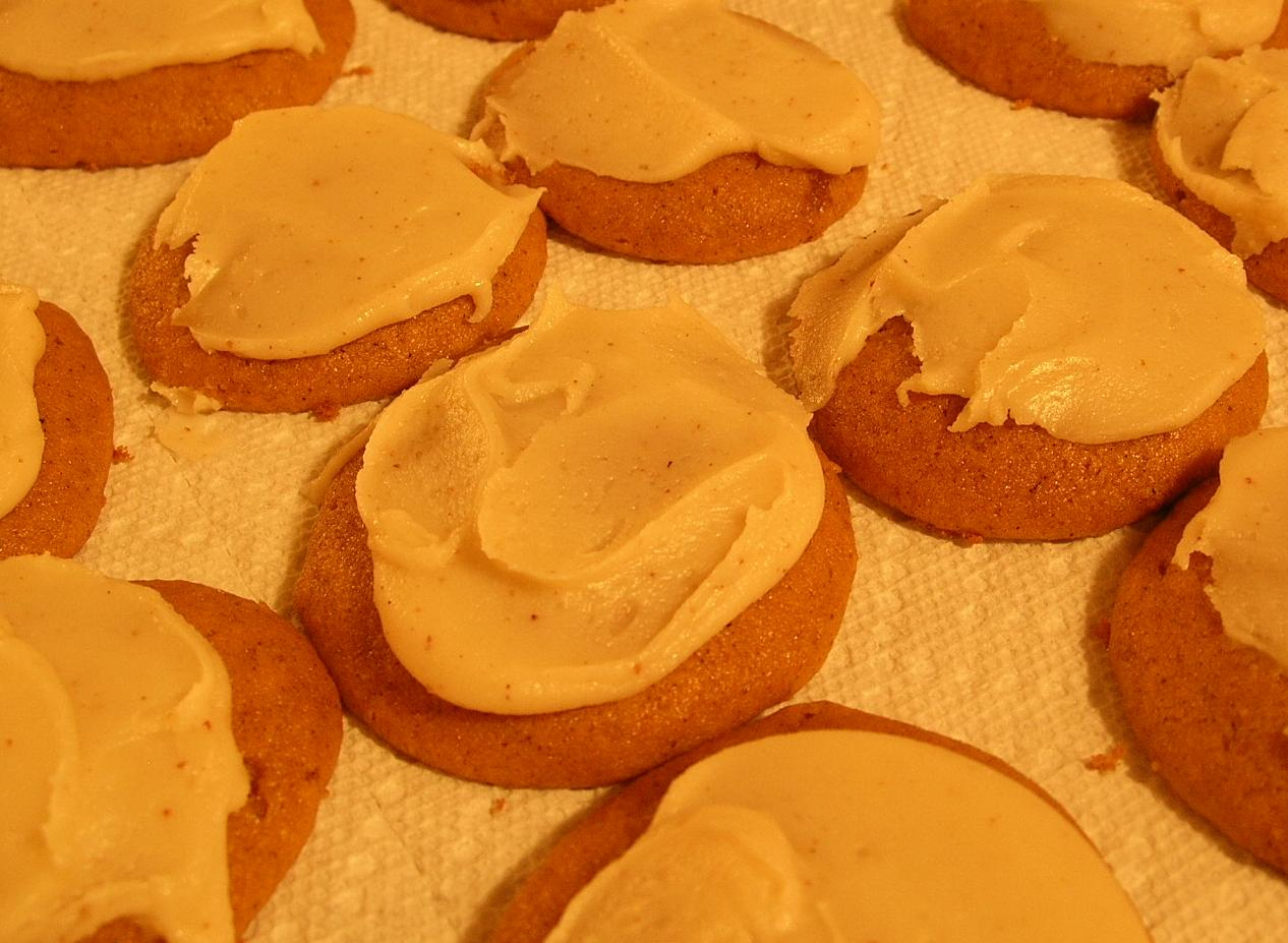 ... Cutest Little House in Town: Pumpkin Cookies with Brown Butter Icing