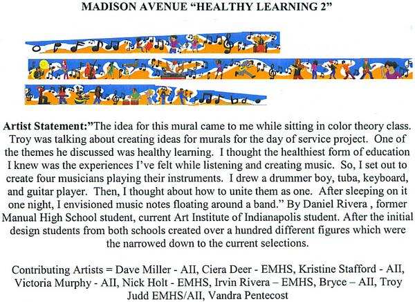 "Madison Avenue ""Healthy learning 2"" 4/22/08"