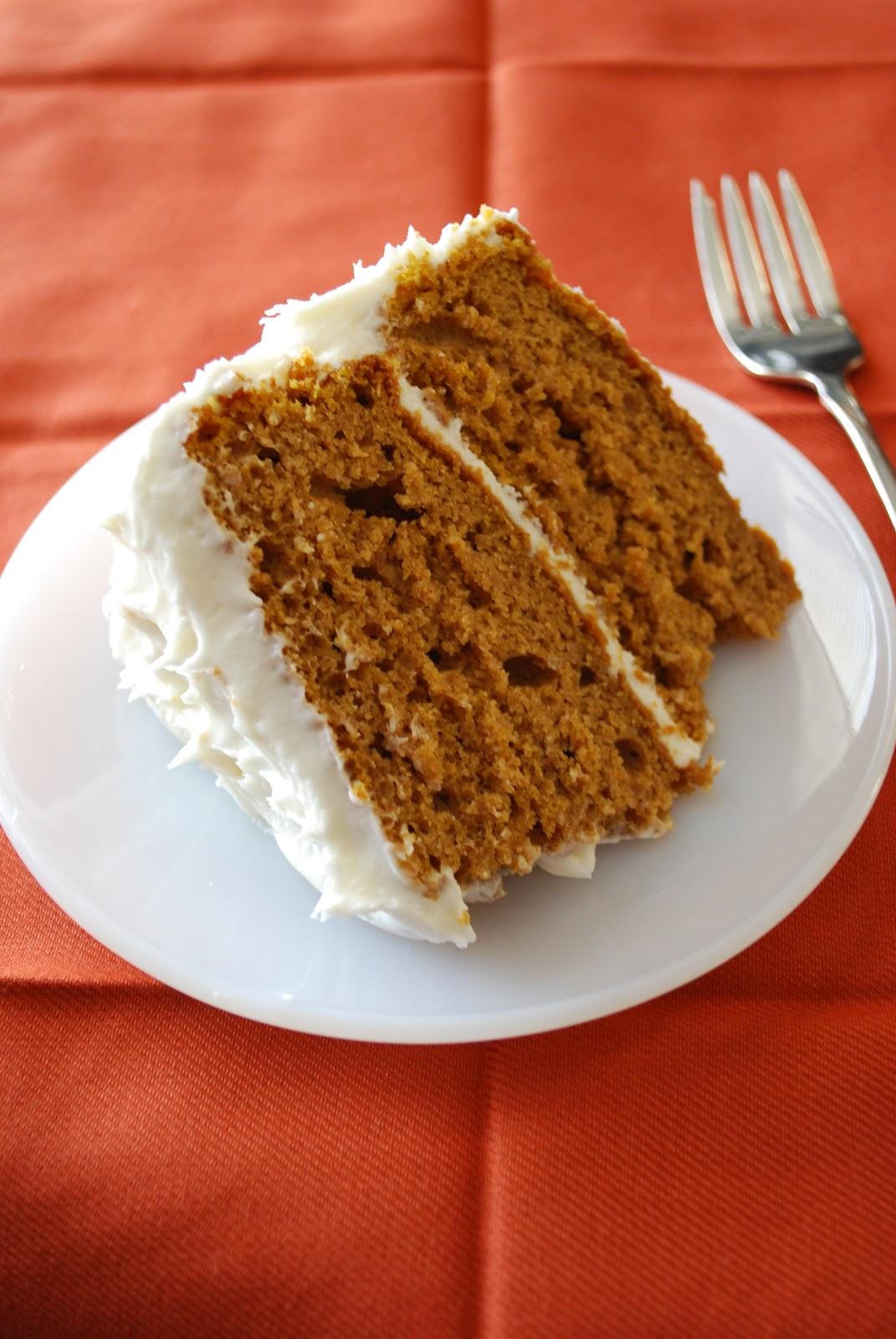 Bake.Frost.Repeat: Pumpkin Spice Cake with Cream Cheese Frosting