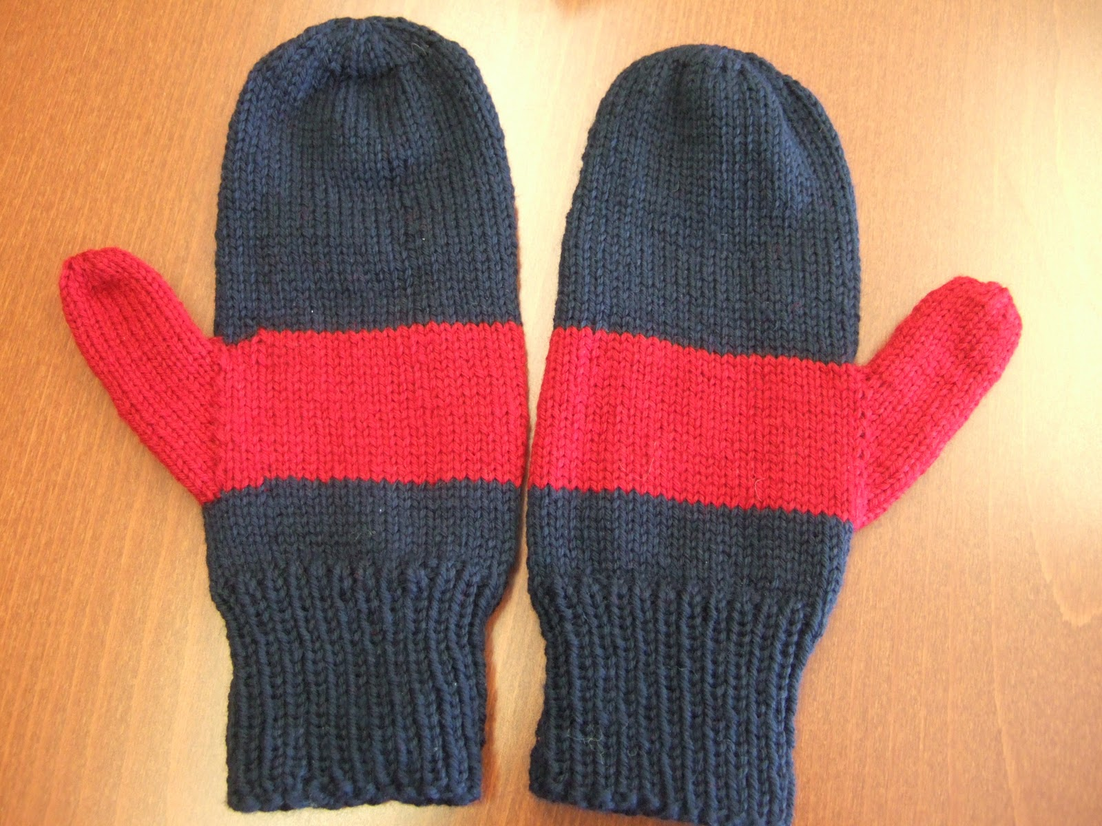 curlerchik knits: easy mittens and my boy\'s birthday