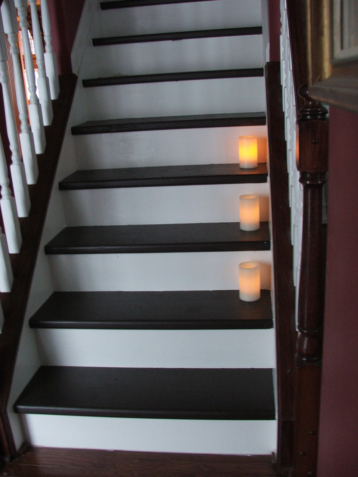 The 81 stair makeover revealed cleverly inspired for Diy staircase makeover
