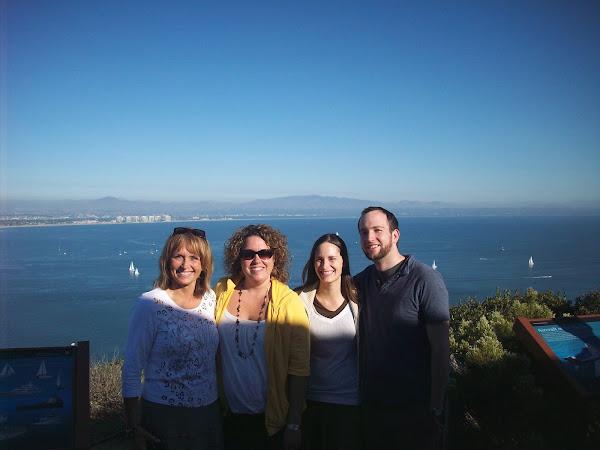 Aunt Vicki, Melissa, Bri, Me