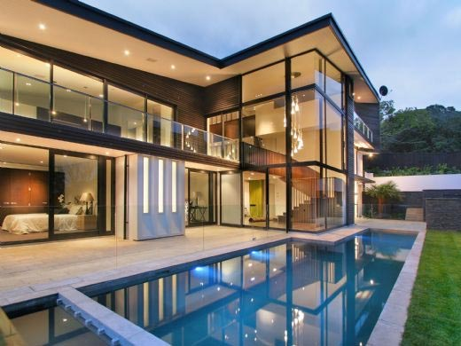 Dream house glass house for Architecture design dream house