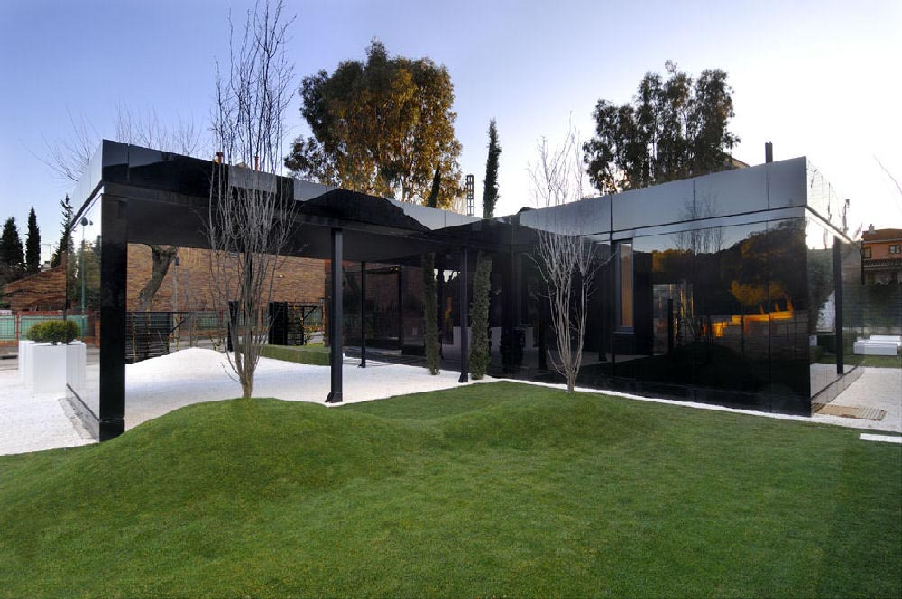 Dream house modular house in madrid spain by a for Architectural modular homes