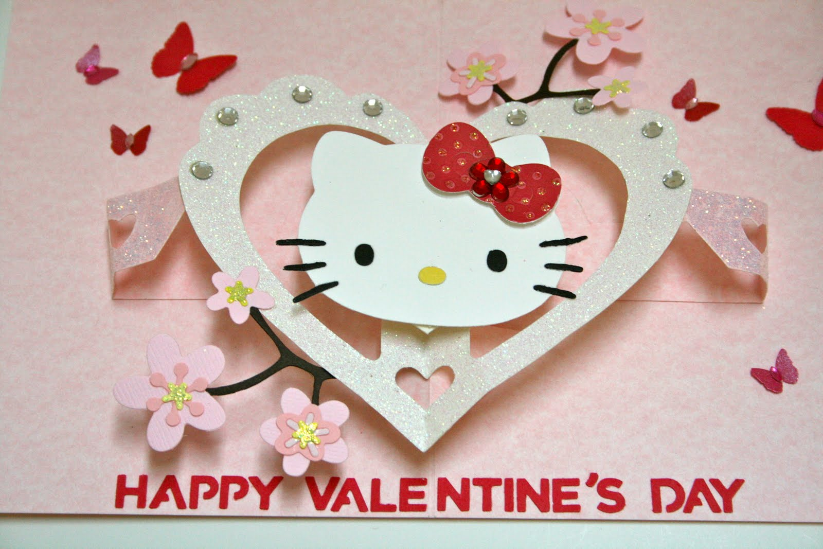 Time To Scrap January 2011 – Hello Kitty Valentine Cards