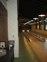 Image of bowling alley lane at Martis Camp