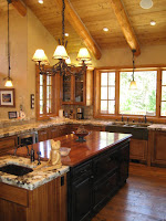 Custom Kitchen at Truckee River Luxury Real Estate