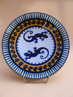 Dinner Plate Medium & Dragana Jevtovic Ceramics - African Natural Oxides Design - Pottery ...
