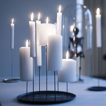 Multi-pin candle stand