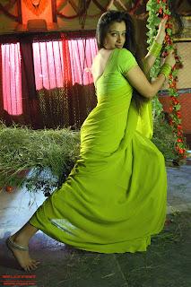 Sexy Navneet Kaur in Sari