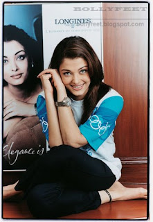 Cute Aishwarya Rai Feet