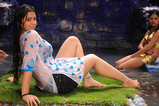 Charmi Hot Wet Dress Photos