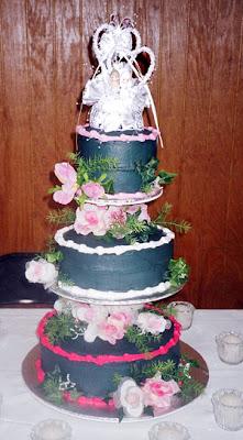 Tacky wedding cakes
