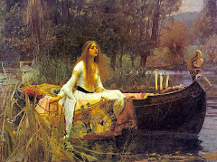 Lady of Shallot by Waterhouse